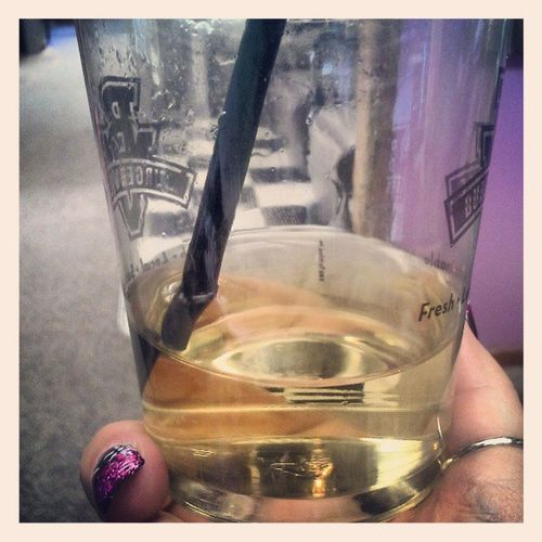 It's never too early for wine. Wine Tikichic Salon Dayofbeauty