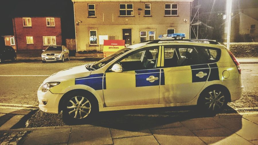 Photography Taking Photos Check This Out Random Night Photography Street Photography Urbanexploration Vehicle Police Police Car Emergency Emergency Vehicle Car Transport
