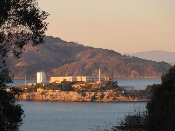 San Francisco, California First Eyeem Photo Jail Island Gaol Prison Alcatraz Sunset USA