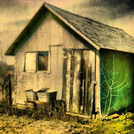 Old Polaroid Captures - The Wash House - Trailblazers_rurex Trailblazers_macro Ig_ruralamerica Rsa_rural sundoors Windowsaroundtheworld doorsofdistinction heyfred_lookatthis