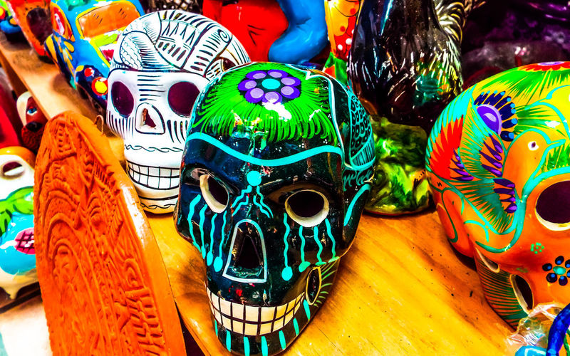 Backgrounds Brownsville Texas Calavera  Close-up Colorful Colour Of Life Creativity Day Of The Dead Decoration Design Detail Full Frame Mexican Mexican Culture Multi Colored No People Ornate Pattern Rio Grande Valley Skulls Hispanic Culture Hispanic Roots This Is Latin America