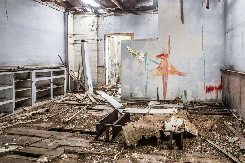 Dancing on the ashes Abandon Abandoned Abandoned & Derelict Abandoned Buildings Abandoned Places Ballerina Ballet Damaged Dancers Graffiti Indoors  Large Group Of Objects Messy No People Obsolete Wall - Building Feature Weathered Worn Out