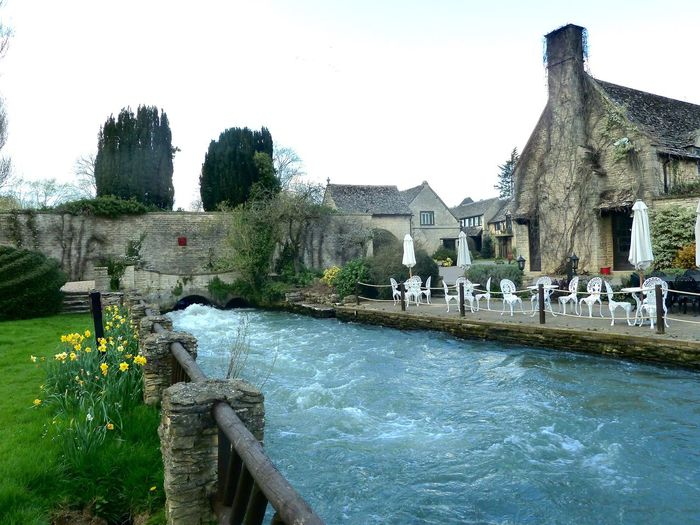 Old Swan & Minster Mill Cotswolds River English Countryside