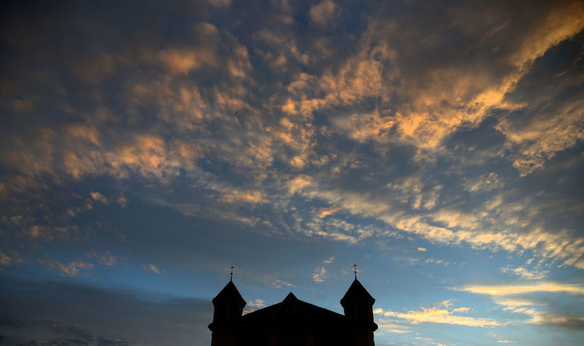 Church Kedainiai Old Town Lithuania Architecture Beauty In Nature Building Building Exterior Built Structure Cloud - Sky House Kirk Kėdainiai Lithuania Travel Low Angle View Nature No People Outdoors Place Of Worship Religion Silhouette Sky Spirituality Sunset