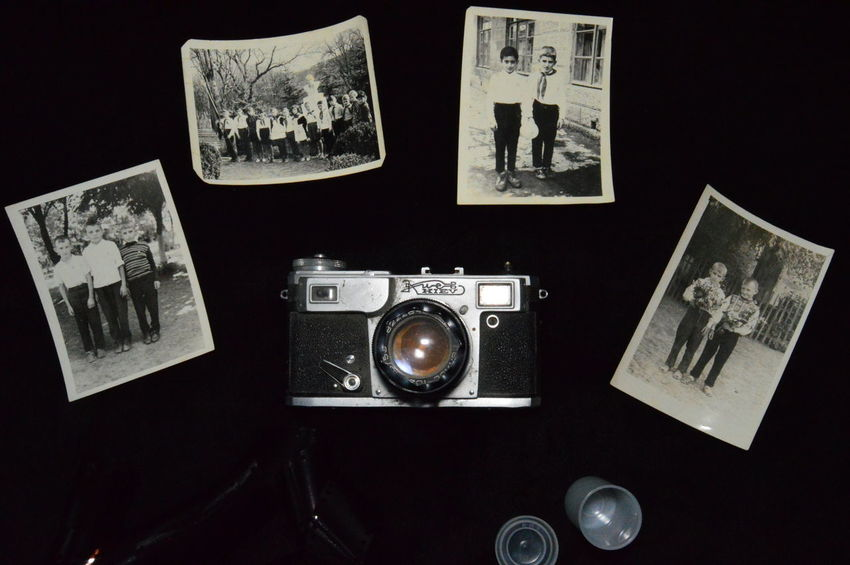 Lieblingsteil Kiev rangefinder camera Camera Photo Film Old Camera Retro Black And White Lieblingsteil