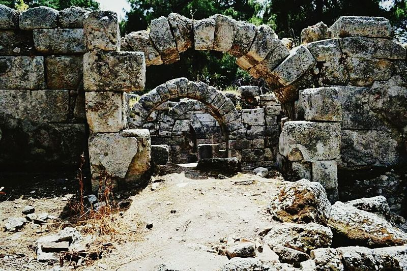 Phaselis Turkey Antalya Antique City Ancient Outdoors Old Ruin Day No People Architecture Ancient Civilization