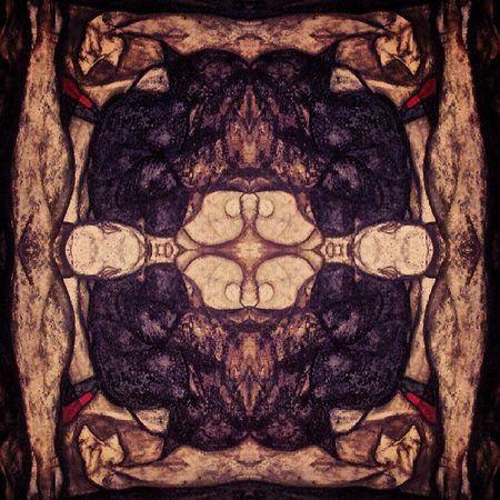 Symmetry Symmetryporn Abstracting_art Schiele  egonschiele blindmother 1914