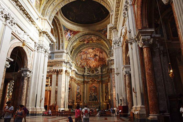 Saint Lgnatius Of Loyola Church Roma