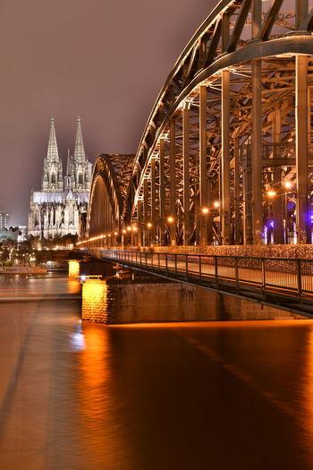 Cathedral Cologne Cologne , Köln,  Deutschland Köln Kölner Dom Kölner Dom Cathedral Bulb Bulbphotography Bulbs Germany Hohenzollernbridge Hohenzollernbrücke Langzeitaufnahme Langzeitbelichtung