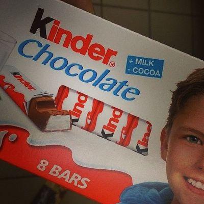 Slodycze Kinder Czekolada  Gruby bede chocolate 8 bars of happiness <3