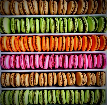 Beautifully Organized Multi Colored Large Group Of Objects Retail  Variation Full Frame Store Backgrounds No People Close-up Market Outdoors Day Macarrons Macaron Macaroons Macarons Macaroniandcheese Macaroon Makaron Makaroons Makaronigandum Makaroni Makarontime Makaron One Love 🍓