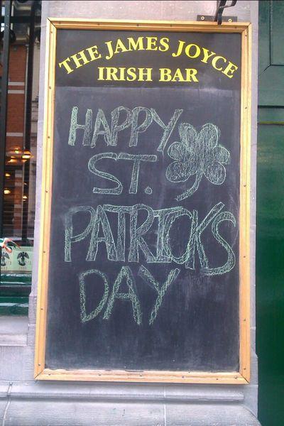 Hanging Out Saint Patrick's Day Irish Luck Of The Irish