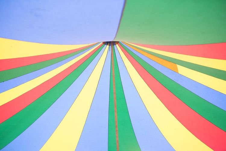 Full Frame Shot Of Colorful Tent