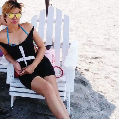 ootd: black saturday! Beachmode Beachmode RelaxHigh Angle View Boracay Philippines Relaxation