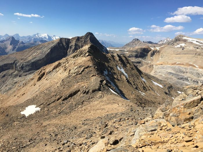 Hiking Beauty In Nature Geology Get Out Girls Who Hike Glacier Landscape Mountain Mountain Range Nature Outdoors Sky Summit Summit View Yoho National Park