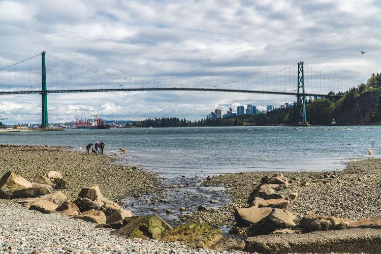 Travel Destinations Travel Travelling Traveling British Columbia Outdoors Bridge Bridge - Man Made Structure Stanley Bridge