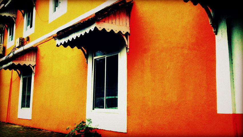 Window Building Exterior Architecture Multi Colored Built Structure No People Outdoors City Orange Great Outdoors Colorful Photooftheday