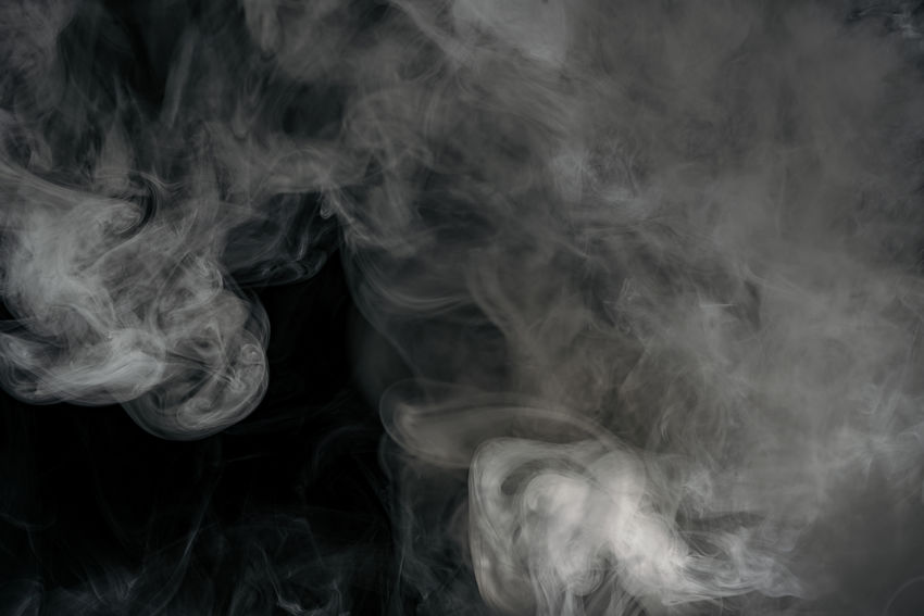 Smoke on black background Dark E-Cigarette Flowing Smoke Steam Vapor Abstract Background Backgrounds Black Cloud - Sky Dynamic Effect Fire Fog Foggy Illuminated Mist Motion Purty Smog Smoke - Physical Structure Smoker Swirl Vape