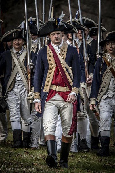 American Revolutionary War Historical Reenactment