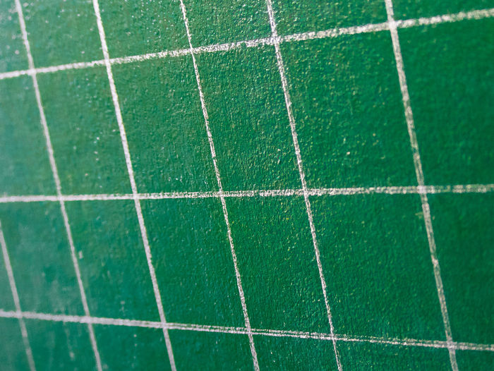 Backgrounds Blackboard School Checkered Board Checkered Pattern Close-up Detail Extreme Close Up Extreme Close-up Full Frame Green Green Color Lines And Shapes Mesh Pattern Pattern Perspective Lines Perspective View Perspectives And Dimensions Repetition Shapes And Patterns  Texture Texturestyles Vibrant Color White And Green White Lines White On Green