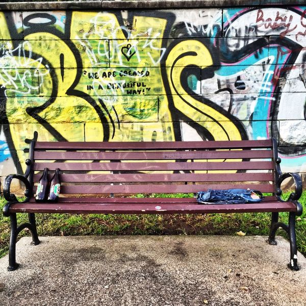 Drinking Bench. Walking Around Streetphotography Streetart Street Photography Urban Landscape Art Check This Out Urban Urban Geometry Graffiti