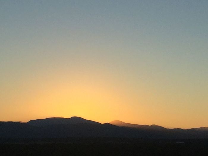 Beauty In Nature Clear Sky Landscape Mountain Mountains Nature No People Outdoords Silhouette Summer Night Sunset Tranquil Scene