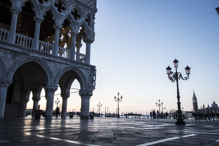 Low Angle View Of Doges Palace - Venice Against Sky