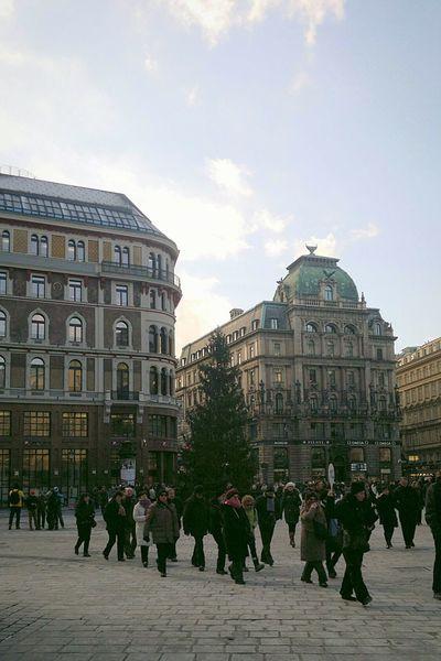 Architecture City People Vienna Austria Favourite Place Favourite City Europe Stephansplatz Oesterreich Sunnywinterday