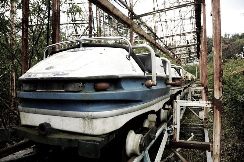 """Greenland, first named """"Città Satellite"""" was an abandoned amusement park near Milan, built in 1965. In the 80's it was one of the best parks in Italy. Closed in 2002, it was distroyed in 2017 and it will be replaced with a new amusement park for families to give a new life to the village Limbiate. Abandoned Places Rollercoaster Abandoned Amusement Park Abandoned Buildings Amusement Park Lunapark Urbex Urbexexplorer Urbexphotography First Eyeem Photo"""