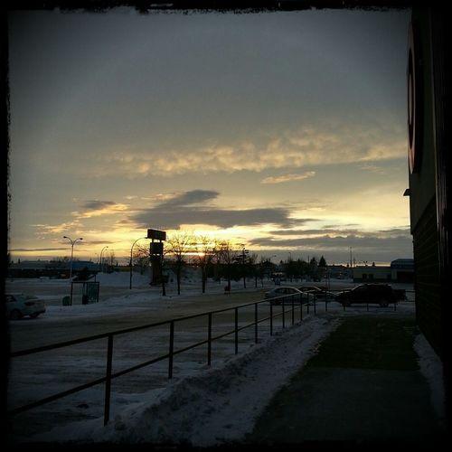 Sunset from the Northgate Mall Beautiful Sunset Sunset Regina Saskatchewan