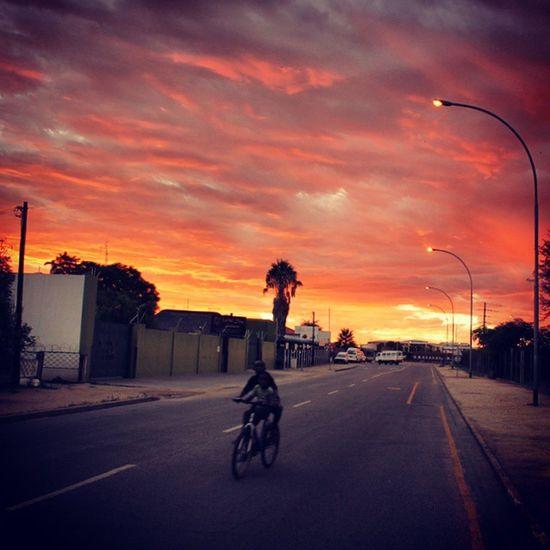 Sunsetoverafrica Clouds