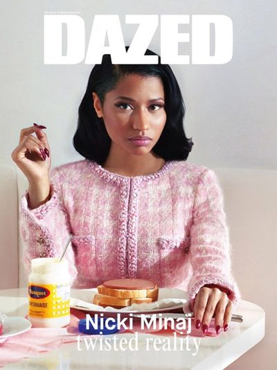 Nicki Minaj Magazine Cover Dazed Hair Style Short Hair Model Gorgeous Aesthetics Fashion Eyebrows On Fleek