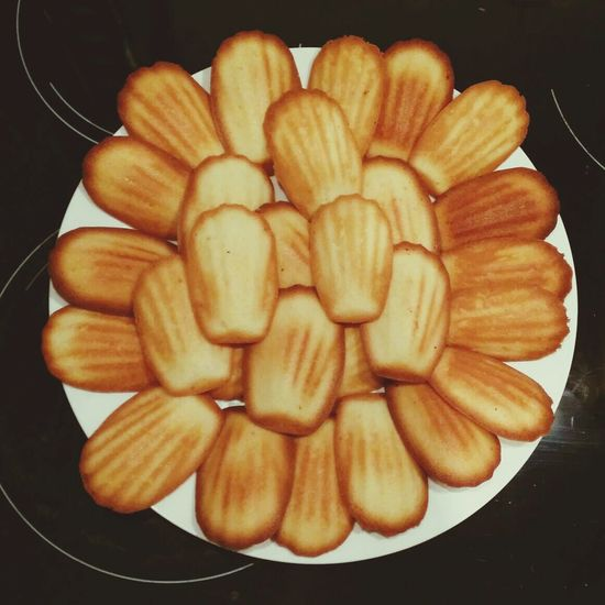 Homemade French Madeleines Food
