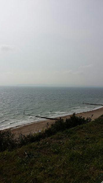 Bournemouth UK Enjoying The Sights Taking Photos Bournemouthpier Sea