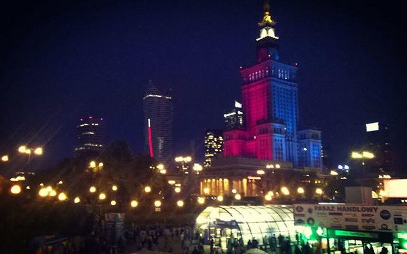 Warsaw Warszawa  Wita Integracja Czeka Zapraszamy Plaza Mostponiatowskiego Bajlando Allnight Party Beerpros