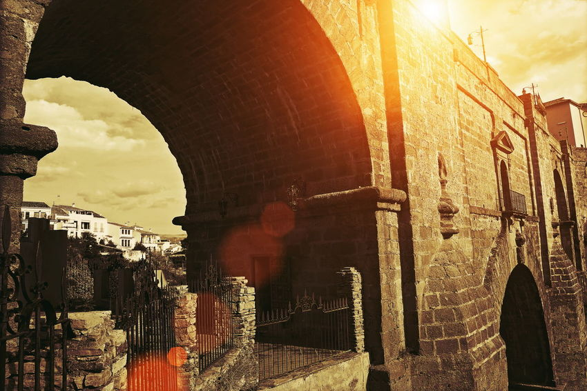 Ronda, Puente Nuevo Arch (Puente Nuevo Bridge) Ronda, Spain Andalucía Andalusia Architecture Spanish Canyon Close-up River Puente Nuevo De Ronda Puente Nuevo Leon Tajo River Travel Destinations Destination Attraction Scenics View Landscape Cobbled Across First Eyeem Photo Old City Town