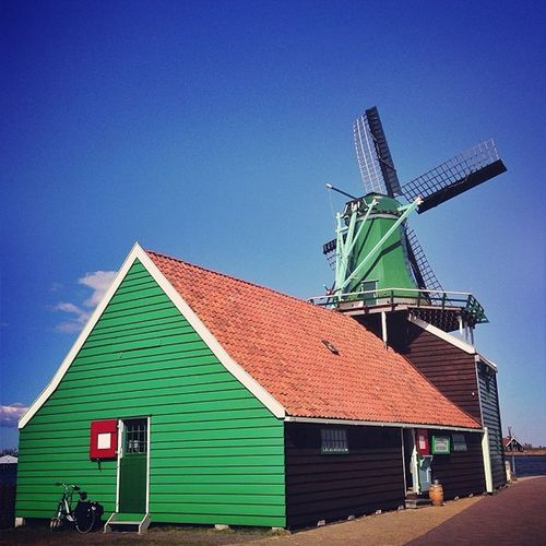 Windmills at Zaanse Schans ☀?☀#alan_in_amsterdam #bike #bicycle #bluesky #bikespotting #bikesaroundtheworld #colorful #countryside #dotz #flippingkewiki #green #gf_daily #gang_family #gramoftheday #holland #igers #ic_cities #igholland #ink361_blue #igersh Igersholland Ink361_blue Holland Bikesaroundtheworld Green Dotz Bike Ic_cities Bicycle Gramoftheday Windmill Worldwidephotowalk Kyrenian Colorful Mokummagazine Bikespotting Countryside Alan_in_amsterdam Bluesky Gang_family Insta_holland Gf_daily Flippingkewiki Igers Igholland Ightypicaldutch