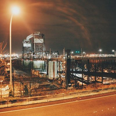 Tacoma by night.