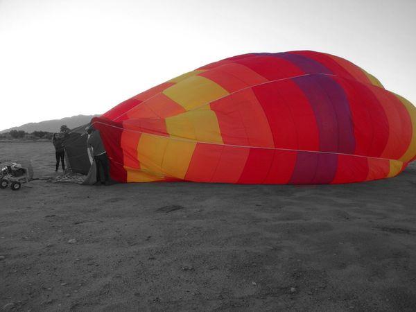 Blackandwhite Newmexico Hotairballoon