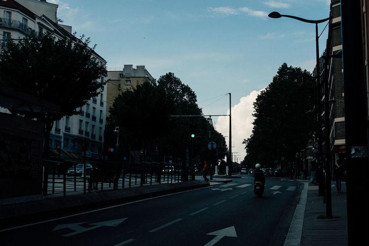 Drive until The Street Photographer - 2018 EyeEm Awards City Light Outdoors Road Sky Street Transportation Tree