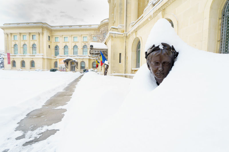 Snow Winter Cold Temperature Outdoors Romania Street Bucureşti Urban Photography City Adrianmitu Mood