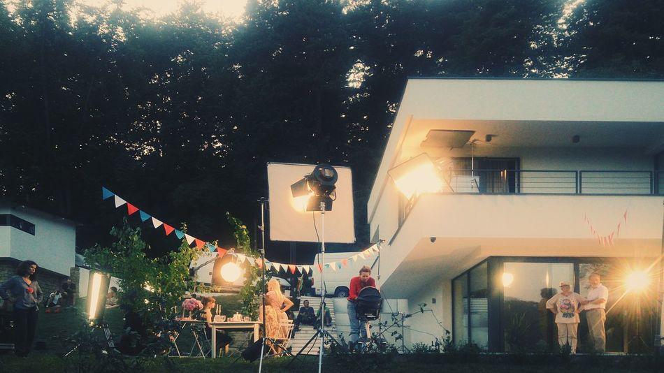 Commercial Producer Video Shoot Realestate Architecture Contemporary Twilight Home Sarajevo