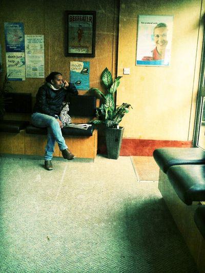 Waiting At Dentist...