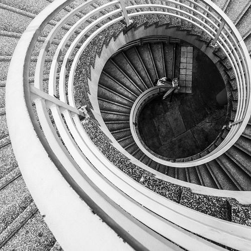 """: """"Maybe there on the edge is your hope But you don't look down"""" Shot by Canon EOS 70d With Samyang 10mm f/2.8 ED AS NCS CS Hkig HongKong Blackandwhite Nyctophilia Ombrophile Pbhk Milkfoto Discoverhongkong VSCO Vscocam Vscohongkong Vscoexpo Vscogood Hk2015 Shoot2kill Picoftheday Photooftheday Instameethk Photographer Instagrampier Stairs Stair silenthill silenthillorigins ort akirayamaoka silenthillzero"""