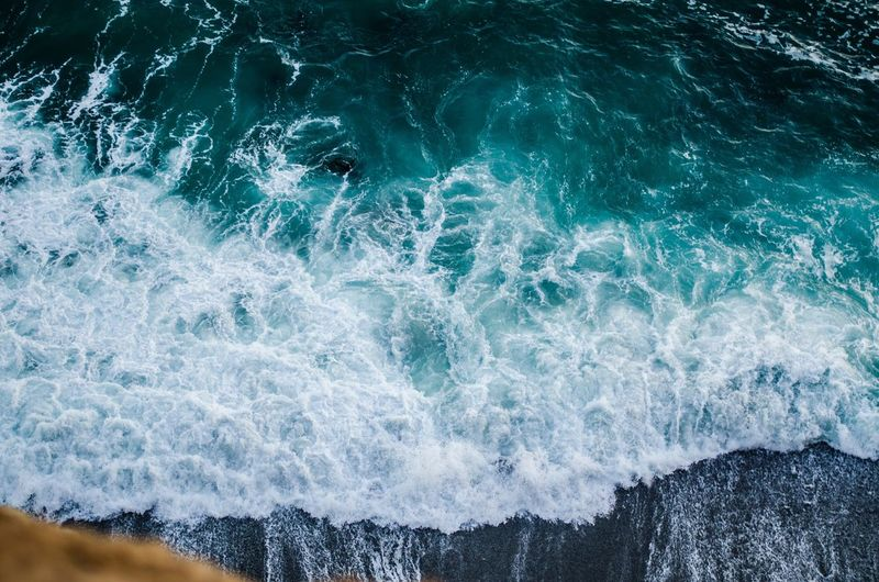 Close-up of sea