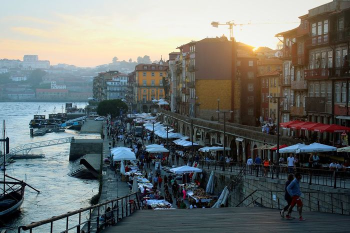 See you soon 😌 Sunset City Architecture Outdoors Market Built Structure Cityscape EyeEm Best Shots Photographylovers Landscape Joaoaz90 Canon100D Photography Porto Ribeira Douro  Northofportugal Hollidays Popular Photooftheday TBT  Capture The Moment 2ndhome Likehome Riverside