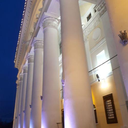Architectural Column Architecture Illuminated