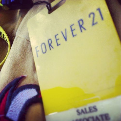 Tonight We're young 4ever21 F21 Summer Yellow young nicejob
