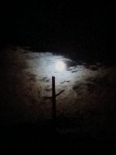 July 3, 2015 Clouds Moon Eerie Black And White