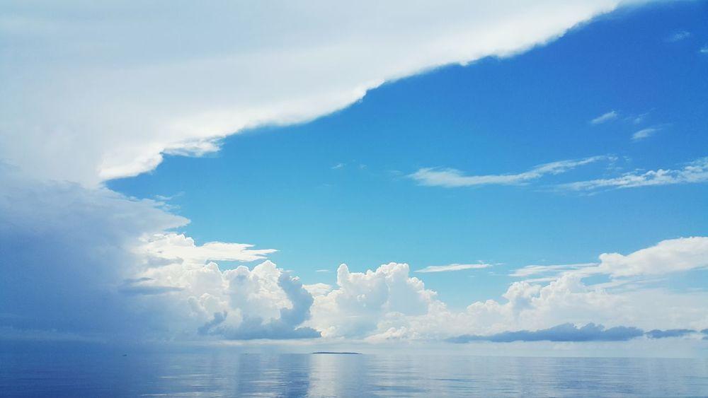 Capture The Moment Seascape Ocean Scene Landscape Sea Beautiful Nature Sky Clouds And Sky Blue Coral